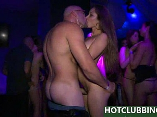 In The Vip video - Sexy clubbing chicks gone wild - public..