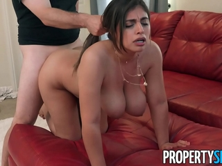 PropertySex Kinky wifey with enormous tits cheats on her..