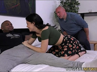 Cheating watches Ava Dalush takes dark-hued trunk